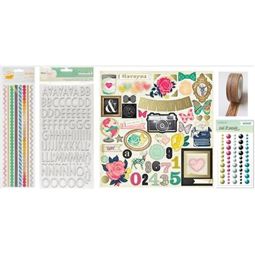 Picture of September 2013 Embellishment Kit
