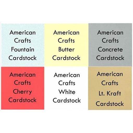 Picture of June 2013 Cardstock Kit