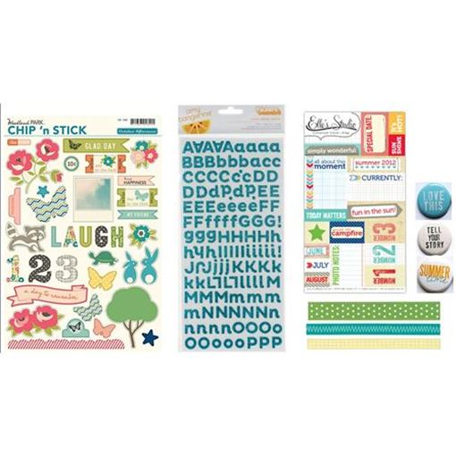 Picture of August 2012 Embellishment Kit