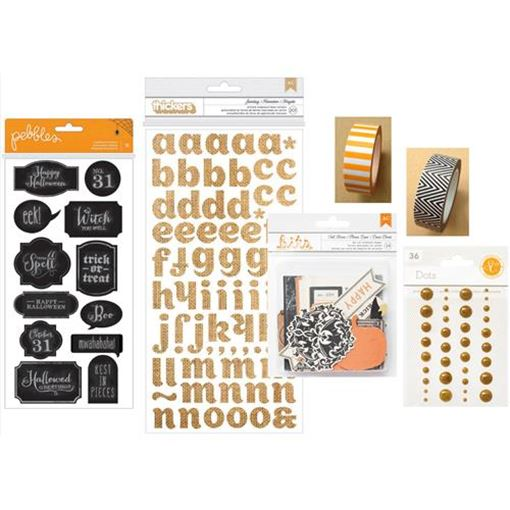 Picture of October 2014 Embellishment Kit