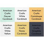 Picture of     October 2014 Cardstock Kit