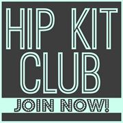 Hip Kit Club - Monthly Scrapbook Kit Club