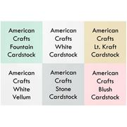 Picture of      December 2014 Cardstock Kit