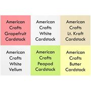 Picture of         July 2015 Cardstock Kit