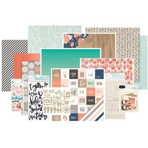 October 2015 Main Scrapbook Kit