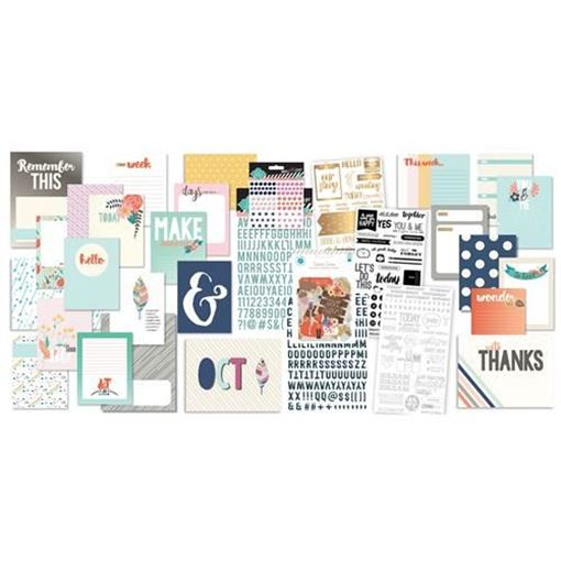 October 2015 Project Life Scrapbook Kit