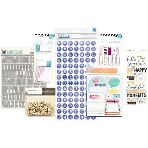 February 2016 Project Life Scrapbook Kit