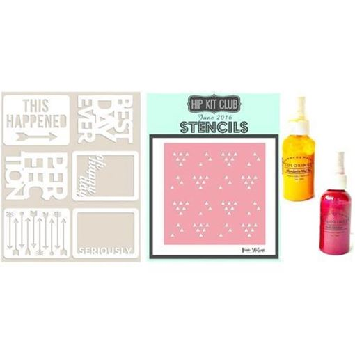 June 2016 Color Scrapbook Kit
