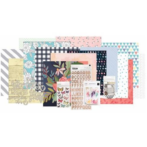 January 2017 Main Scrapbook Kit