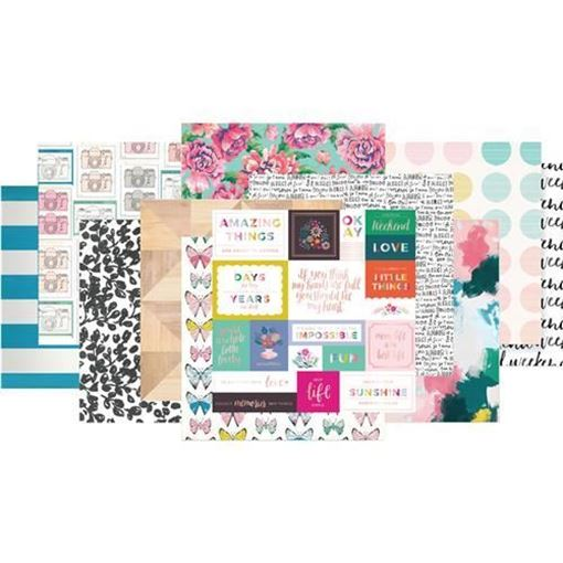 February 2017 - Paper Scrapbook Kit