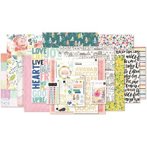 March 2017 - Main Scrapbook Kit