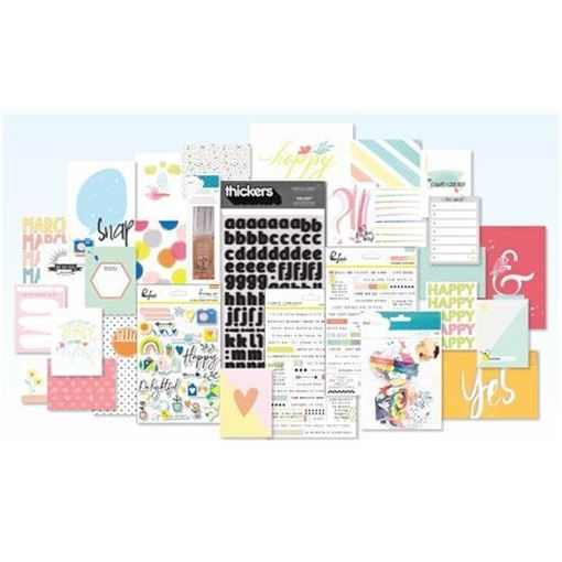 March 2017 - Project Life Scrapbook Kit