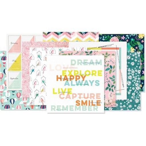 May 2017 - Paper Scrapbook Kit