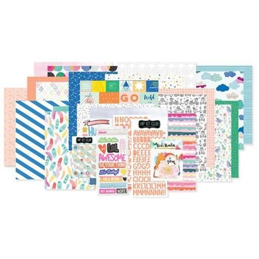 June 2017 Main Scrapbook Kit