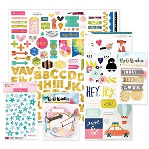 June 2017 Project Life Scrapbook Kit
