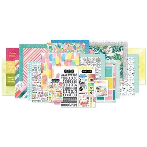 July 2017 Hip Kit Club Main Scrapbook Kit