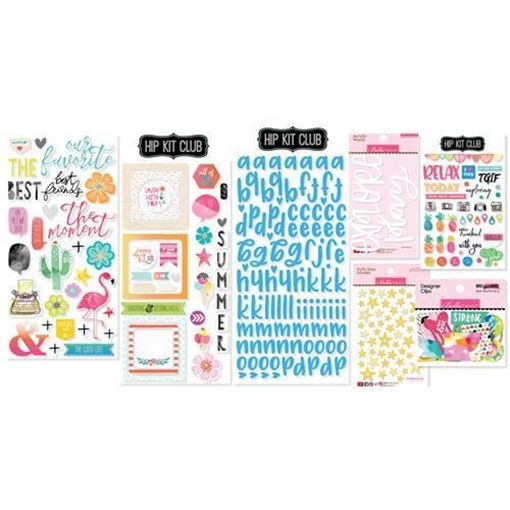 July 2017 Hip Kit Club Embellishment Scrapbook Kit