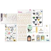October 2017 Hip Kit Club Embellishment Scrapbook Kit
