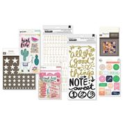 January 2018 Hip Kit Club Embellishment Scrapbook Kit