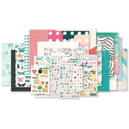 February 2018 Hip Kit Club Main Scrapbook Kit