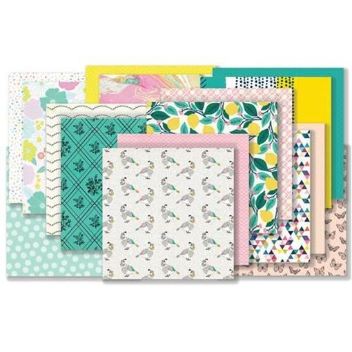 March 2018 Hip Kit Club Paper Scrapbook Kit
