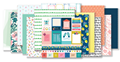April 2018 Hip Kit Club Paper Scrapbook Kit