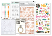 May 2018 Hip Kit Club Embellishment Scrapbook Kit