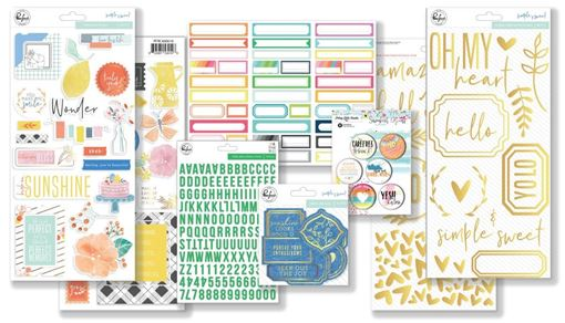 June 2018 Hip Kit Club Embellishment Scrapbook Kit