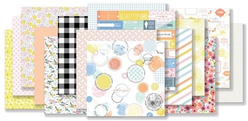 June 2018 Hip Kit Club Paper Scrapbook Kit