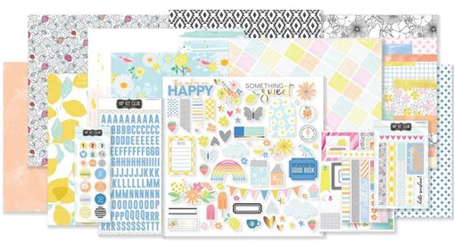July 2018 Hip Kit Club Main Scrapbook Kit