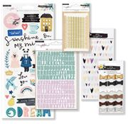 August 2018 Hip Kit Club Project Life Scrapbook Kit