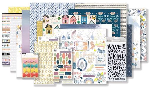 September 2018 Hip Kit Club Main Scrapbooking Kit