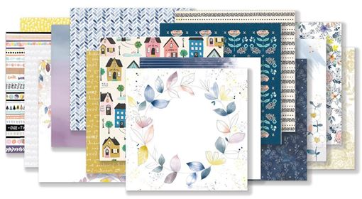 September 2018 Hip Kit Club Paper Scrapbooking Kit