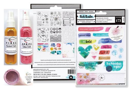 September 2018 Hip Kit Club Color Scrapbooking Kit