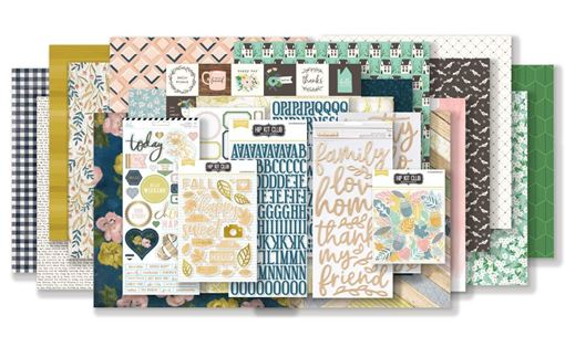 November 2018 Hip Kit Club Main Scrapbook Kit