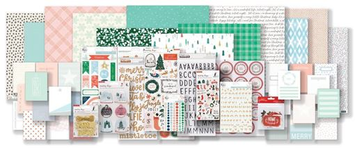 November 2018 Hip Kit Club December Daily Documented Scrapbook Kit