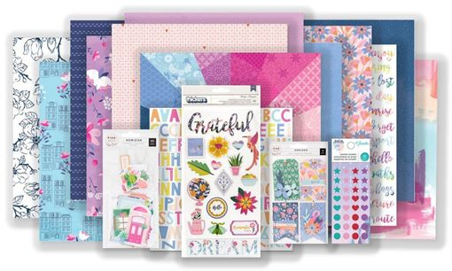 April 2019 Hip Kit Club Main Scrapbook Kit