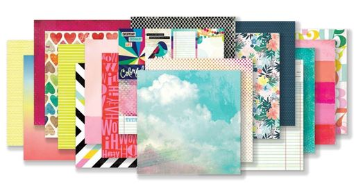 June 2019 Hip Kit Club Paper Scrapbook Kit