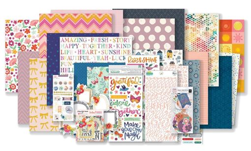 August 2019 Hip Kit Club Main Scrapbook Kit