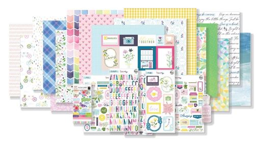 February 2020 Hip Kit Club Main Scrapbook Kit