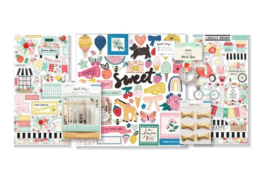 April 2020 Hip Kit Club Embellishment Scrapbook Kit