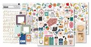 September 2020 Hip Kit Club Embellishment Scrapbook Kit