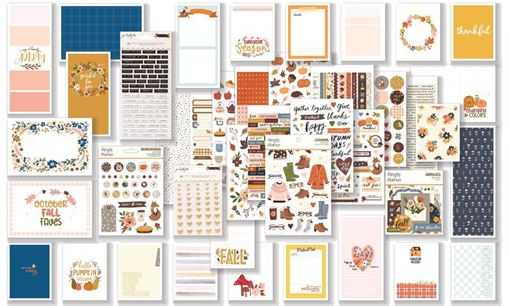 October 2020 Hip Kit Club Project Life Scrapbook Kit